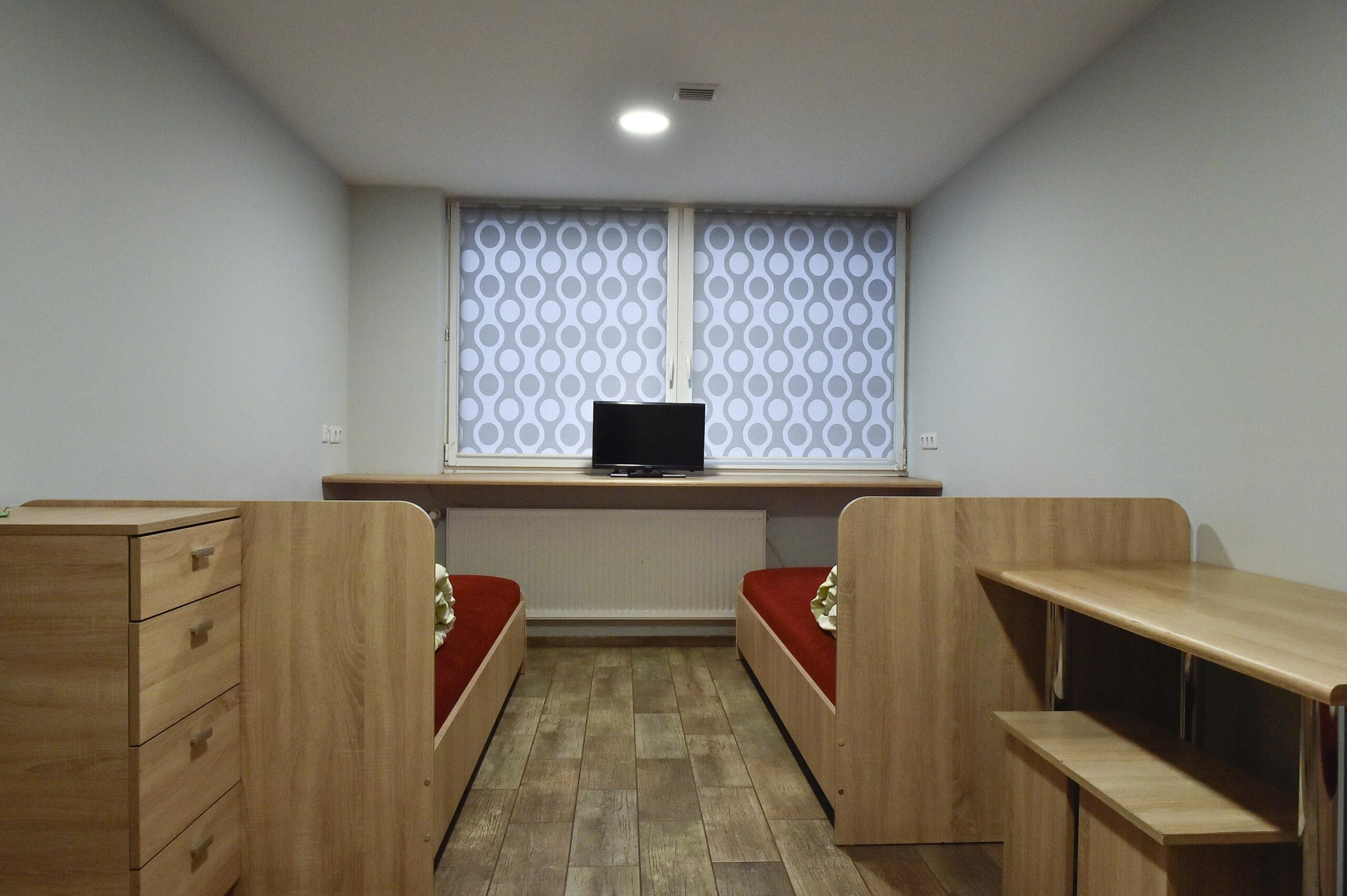Dvivietis kambarys sublokuotas