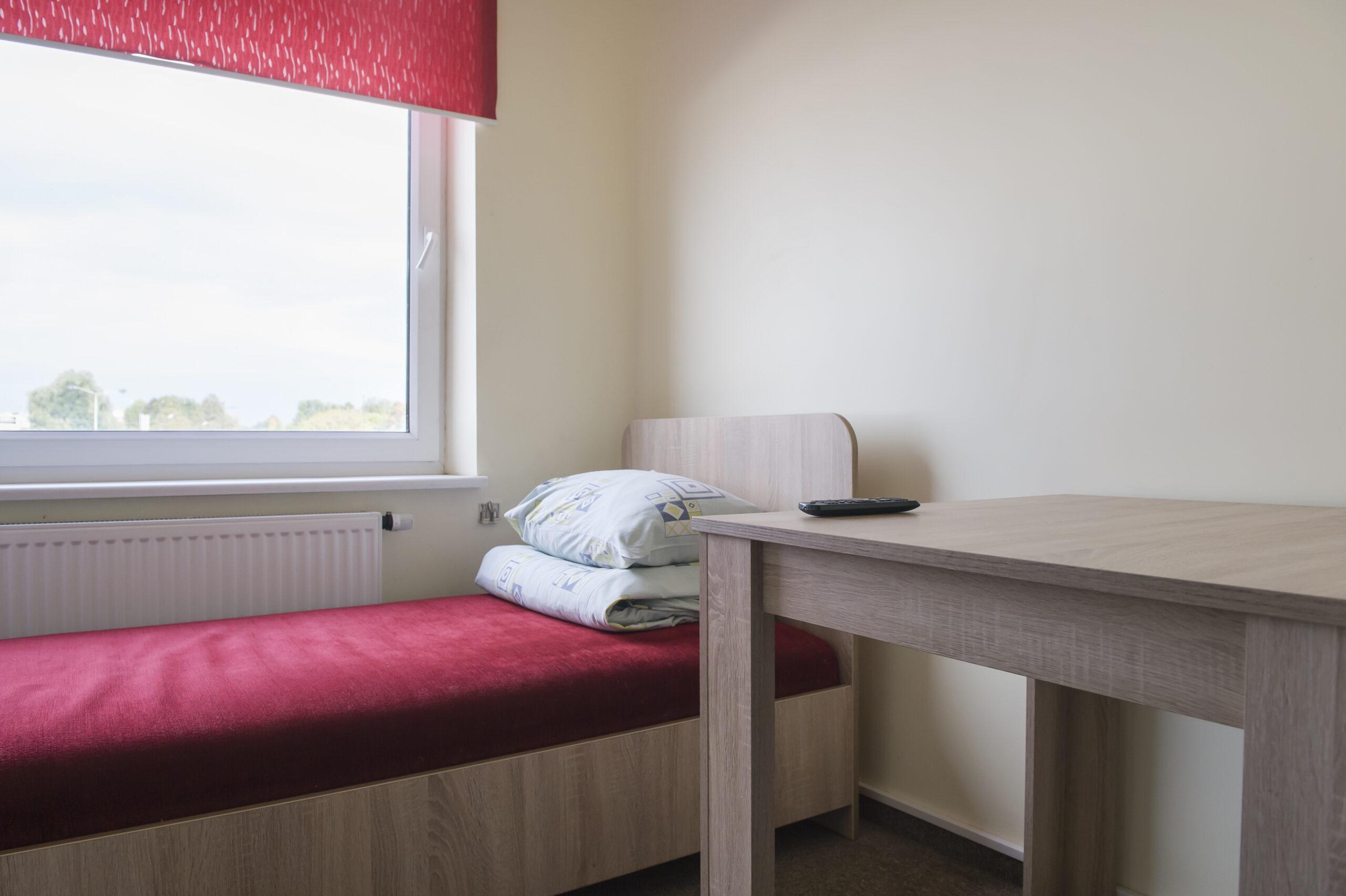 Vienvietis kambarys su bendrais patogumais